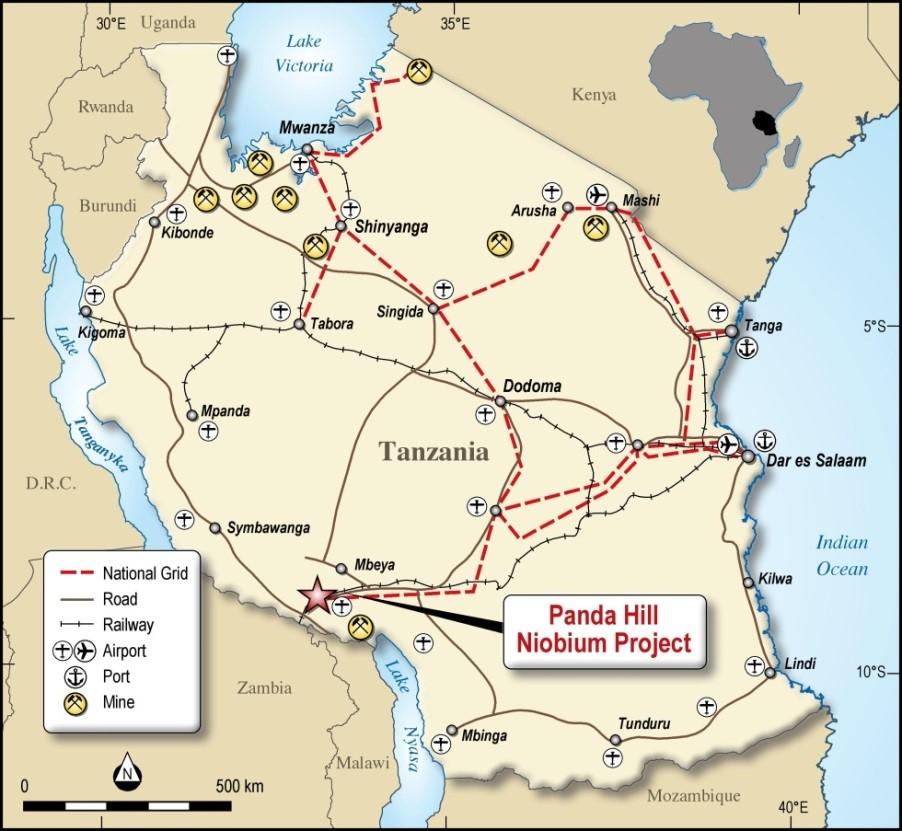 Location Tanzania