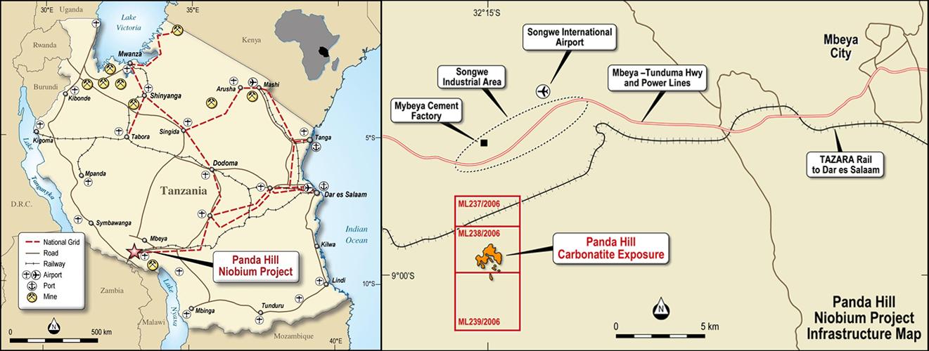 Figure 1 – Panda Hill Project Location